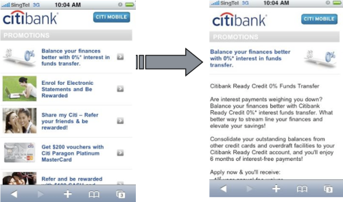 Citibank Promotions